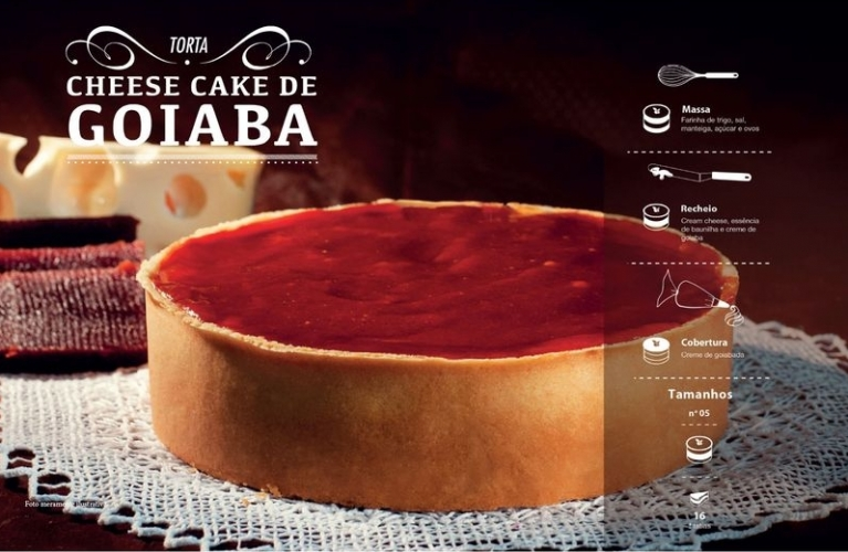 Cheese Cake de Goiaba