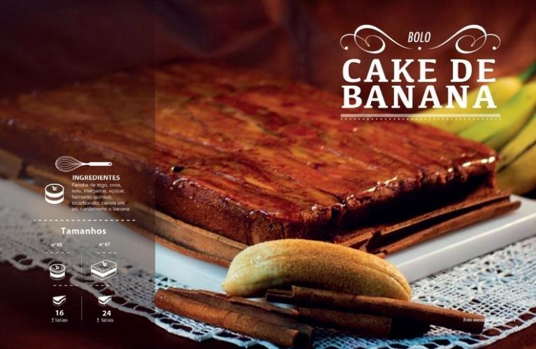 Cake de Banana