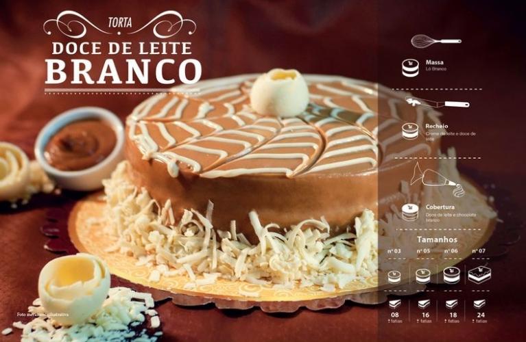 Torta Doce de Leite Branco